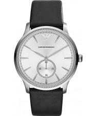 Emporio Armani AR1797 Mens Silver and Black Watch