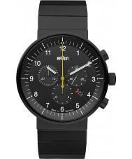 Braun BN0095BKBKBTG Mens Prestige Black Chronograph Watch