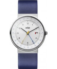 Braun BN0142WHBLG Mens White Blue Watch