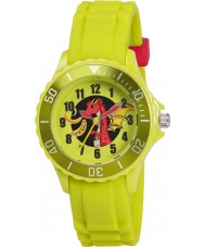 Tikkers TK0054 Kids Green Dragon Watch