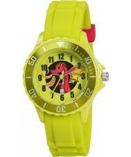 Tikkers TK0054 Kids Green Dragon Watch