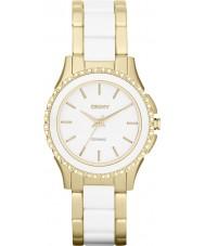 DKNY NY8829 Ladies Westside Ceramic White Gold Watch
