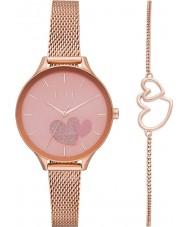 Elle ELL27005 Ladies Ternes Watch and Bracelet Gift Set