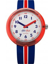 Flik Flak FPNP026 Boys Red Band Watch