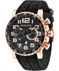 Police 14443JSR-02P Mens Powerslide Black Watch