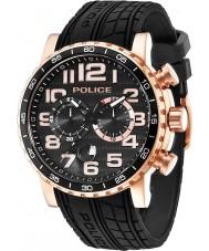 Police 14443JSR-02P Mens Powerslide Black Watch