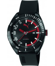 Puma PU103951001 Octane II Black Silicone Strap Watch