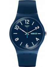 Swatch SUON705 New Gent - Backup Blue Watch