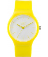 LTD Watch Limited Edition White Yellow Watch