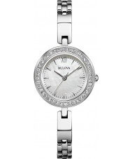 Bulova 98X107 Ladies Silver Steel Bracelet Watch
