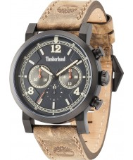 Timberland 14811JSB-19 Mens Templeton Brown Leather Strap Watch