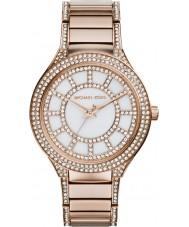 Michael Kors Ladies Kerry Rose Gold Plated Bracelet Watch