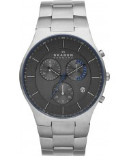 Skagen SKW6077 Mens Aktiv Gunmetal Chronograph Watch