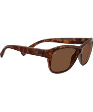 Serengeti Gabriella Shiny Red Tortoiseshell Polarized Drivers Sunglasses