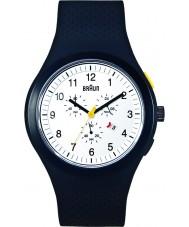 Braun BN0115WHBKBKG Mens White Chronograph Watch