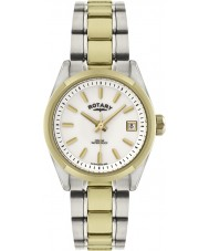 Rotary LB02661-11 Ladies Timepieces Havana Two Tone Gold Watch