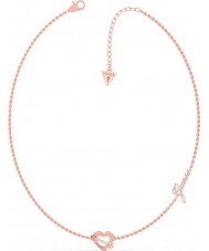 Guess UBN79061 Ladies Across My Heart Necklace