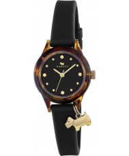 Radley RY2324 Ladies Watch It! Black Strap Watch with Gold Highlights