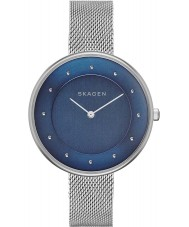 Skagen SKW2293 Ladies Gitte Silver Mesh Strap Watch