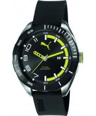 Puma PU103951002 Octane II Black Silicone Strap Watch