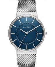 Skagen SKW6234 Mens Ancher Silver Mesh Watch with Rotating Date