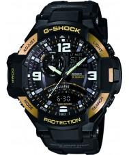 Casio GA-1000-9GER Mens G-Shock World Time Black Combi Watch