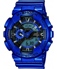 Casio GA-110NM-2AER Mens G-Shock Blue Worldtime Combi Watch