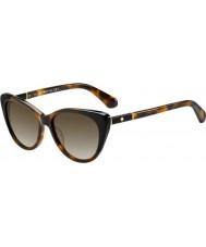 Kate Spade New York Ladies Sherylyn-S 581 HA Sunglasses