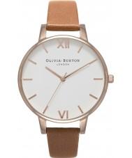 Olivia Burton OB16BDW19 Ladies White Dial Watch