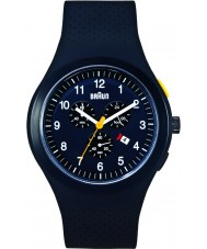 Braun BN0115BKBKBKG Mens Chronograph Black Watch