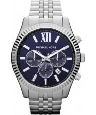 Michael Kors MK8280 Mens Lexington Silver Steel Chronograph Watch