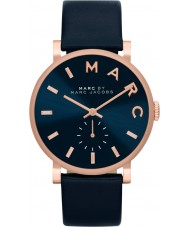 Marc Jacobs MBM1329 Ladies Baker Rose Gold Navy Watch