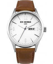 Ben Sherman WB053T Mens Brown Leather Strap Watch