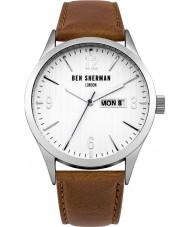 Ben Sherman WB053T Mens Brown Leather Strap Watch