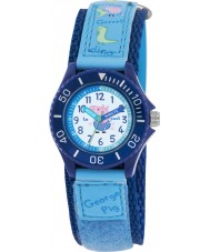 Peppa Pig PP006 Boys Time Teacher Watch with Blue PU Strap