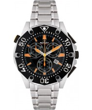 Rotary AGB00036-C-04 Mens Aquaspeed Black Steel Chronograph Watch