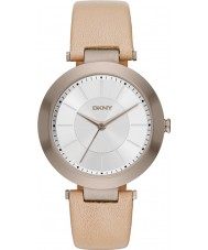 DKNY NY2459 Ladies Stanhope 2.0 Light Brown Leather Strap Watch
