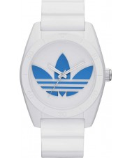 Adidas ADH2921 Santiago White Silicone Strap Watch