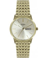 Rotary GB02753-03 Mens Timepieces Gold Plated Steel Bracelet Watch