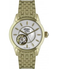 Rotary LB90513-41 Ladies Les Originales Automatic Gold Plated Watch