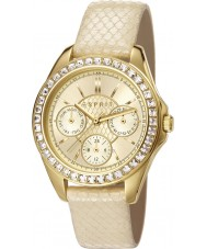 Esprit ES107872002 Ladies TP10787 White Leather Strap Watch