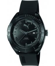 Puma PU103951003 Octane II Black Silicone Strap Watch