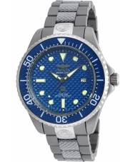 Invicta 90284 Mens Pro Diver Two Tone Mixed Strap Watch