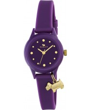 Radley RY2326 Ladies Watch It! Egg Plant Strap Watch with Gold Highlights