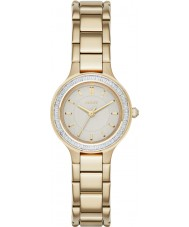 DKNY NY2392 Ladies Chambers Gold Plated Bracelet Watch