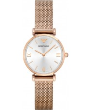 Emporio Armani AR1956 Ladies Rose Gold Steel Mesh Bracelet Dress Watch