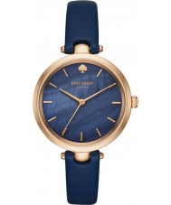 Kate Spade New York KSW1157 Ladies Holland Blue Leather Strap Watch