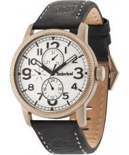 Timberland 14812JSK-01 Mens Erving Black Leather Strap Watch