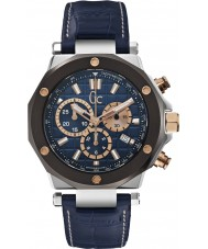 Gc X72025G7S Mens Gc-3 Blue Chronograph Watch