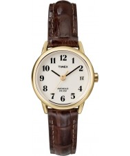 Timex T20071 Ladies Natural Brown Easy Reader Watch